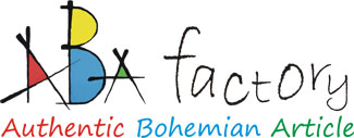 ABAfactory - Authentic Bohemian Article - logo the manufacturer of quality wooden toys from the Czech Republic.