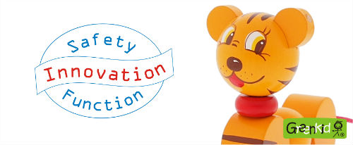 Safety-innovation in the production of quality Czech wooden toys Greenkid. Abafactory the Czech manufacturer.
