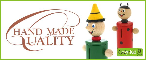 Abafactory the Czech manufacturer of wooden toys Greenkid, hand work and hand painting.