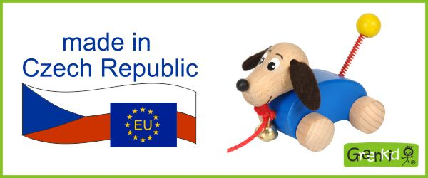 Greenkid brand of Czech wooden toys produced in EU in the Czech Republic. Abafactory made in EU.
