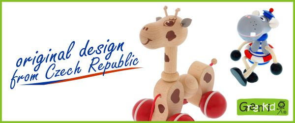 Abafactory the manufacturer of quality wooden toys Greenkid. Original design from the Czech Republic.
