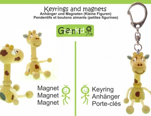 Key-rings and Magnet figures