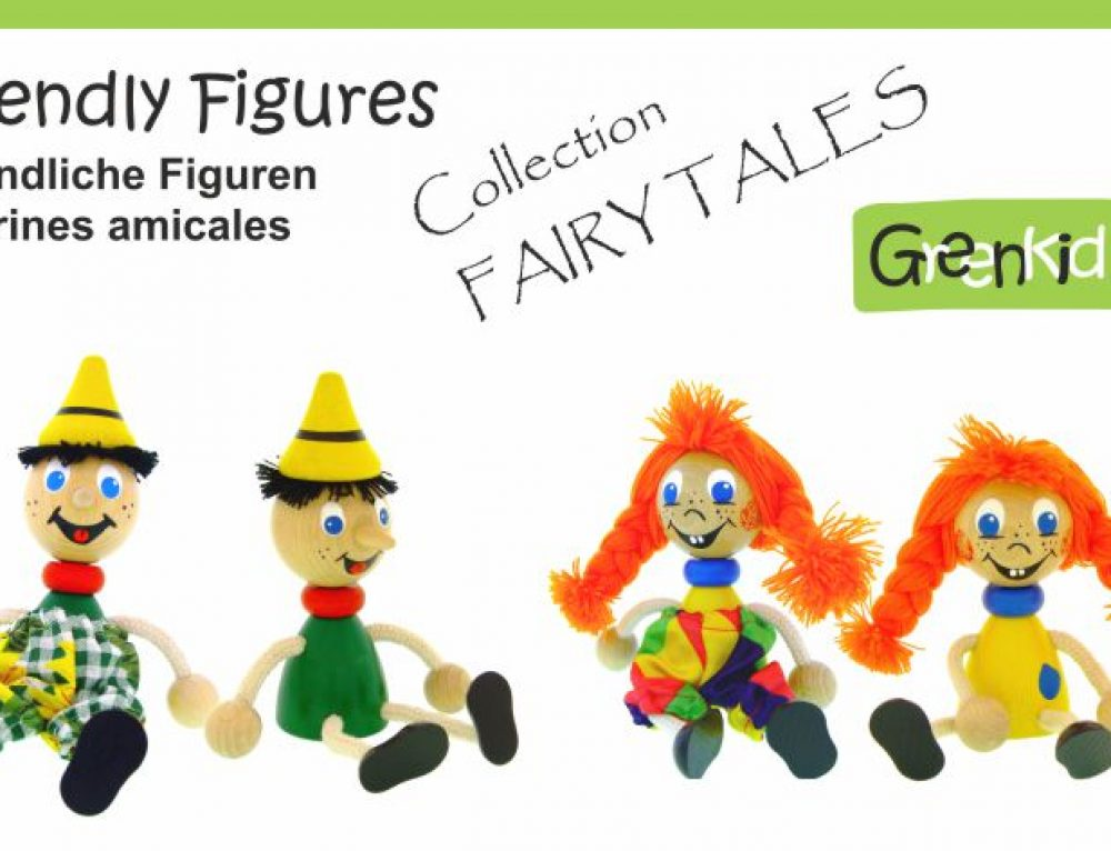 Wooden Figures – Fairy-tale Characters